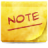 Apps Stock Insert Note Icon