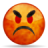 Emotes Face Angry Icon