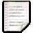 Mimetypes Application RTF Icon 48x48 png