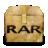 Mimetypes Application X RAR Icon 48x48 png