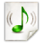 Mimetypes Audio Mpeg Icon 48x48 png