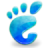 Places Start Here Gnome Skyblue Icon