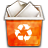 Status Human Trash Can Full New Icon