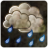 Status Weather Showers Scattered Icon