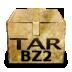 Mimetypes Application X Bzip Icon 72x72 png