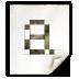 Mimetypes Application X Font BDF Icon 72x72 png