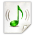 Mimetypes Audio X Scpls Icon 72x72 png