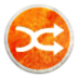 Stock Media Playlist Shuffle Icon 72x72 png