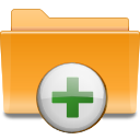 Actions KDE Add Folder To Archive Icon 128x128 png