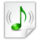 Mimetypes Audio MP4 Icon