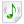 Mimetypes Audio Basic Icon 24x24 png