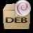 Mimetypes Application X DEB Icon 48x48 png