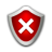 Status Security Low Icon 48x48 png
