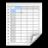 Stock New Spreadsheet Icon