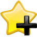 Actions Stock Add Bookmark Icon 72x72 png