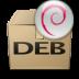 Mimetypes Application X DEB Icon 72x72 png