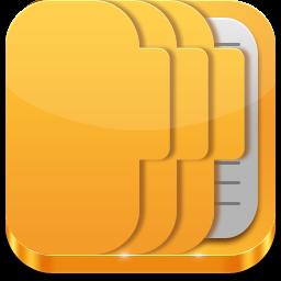 Folder Data Icon Iicons Softicons Com