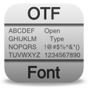 File Otf Icon