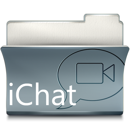 Folder iChat Icon 512x512 png