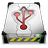 Hard Drive USB Icon