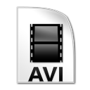Avi Videos Files Icon 128x128 png