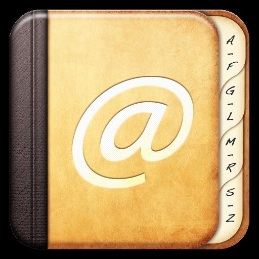 address book icon irob icons softiconscom