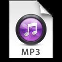 iTunes MP3 Purple Icon
