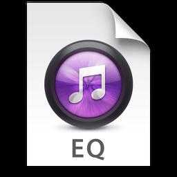 iTunes EQ Purple Icon 256x256 png