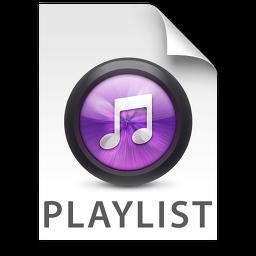 iTunes Playlist Purple Icon 256x256 png