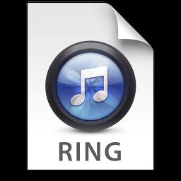 iTunes Ringtone Blue Icon 256x256 png