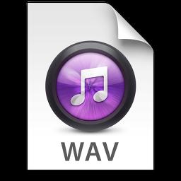 iTunes WAV Purple Icon 256x256 png