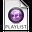 iTunes Playlist Purple Icon 32x32 png