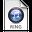 iTunes Ringtone Blue Icon 32x32 png