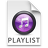 iTunes Playlist Purple Icon 48x48 png