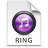 iTunes Ringtone Purple Icon 48x48 png