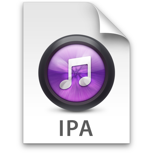 iTunes IPA Purple Icon 512x512 png