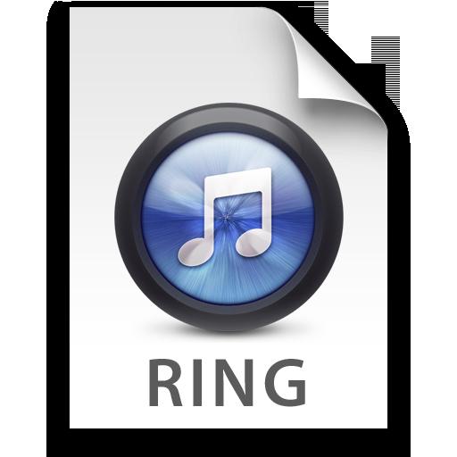 iTunes Ringtone Blue Icon 512x512 png