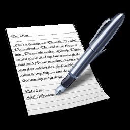 Wordpad Icon 256x256 png
