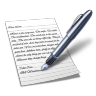 Wordpad Icon 96x96 png