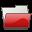 Folder Scarletred Icon 32x32 png