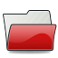 Folder Scarletred Icon 64x64 png
