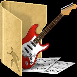 Folder My Music Icon - Junior Icons - SoftIcons.com