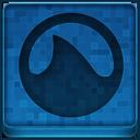 Blue Grooveshark Icon