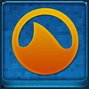 Blue Grooveshark Coloured Icon
