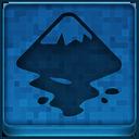 Blue Inkscape Icon