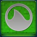 Green Grooveshark Coloured Icon