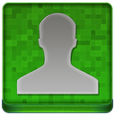 Green User Coloured Icon