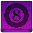 Pink 8Ball Icon
