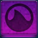 Pink Grooveshark Icon