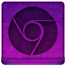 Pink Chrome Icon 256x256 png